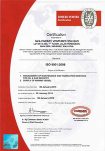 ISO Certificate (Malaysia Standards)